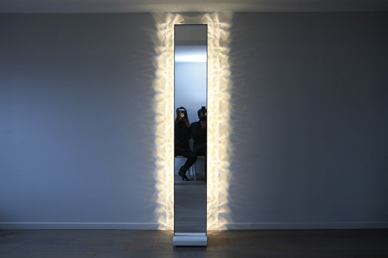 Illuminated mirrors for bedrooms